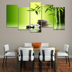 MailingArt FIV236  5 Panels Landscape Wall Art Painting Home Decor Canvas Print -