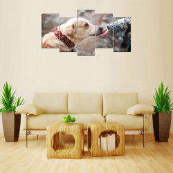 MailingArt FIV238  5 Panels Landscape Wall Art Painting Home Decor Canvas Prin -
