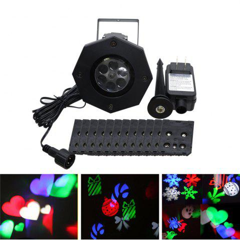 Buy YWXLight LED Projection Lights Snowflake Christmas Light Outdoor Lighting AC 100 - 240V