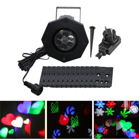 Unique YWXLight LED Projection Lights Snowflake Christmas Light Outdoor Lighting AC 100 - 240V
