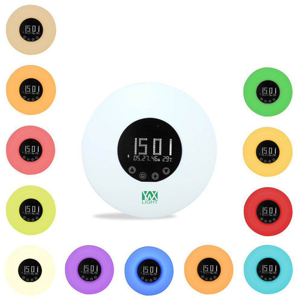 Unique Ywxlight Wake Up Ligh Alarm Clock with Sunrise Simulation for A Natural Wakeup