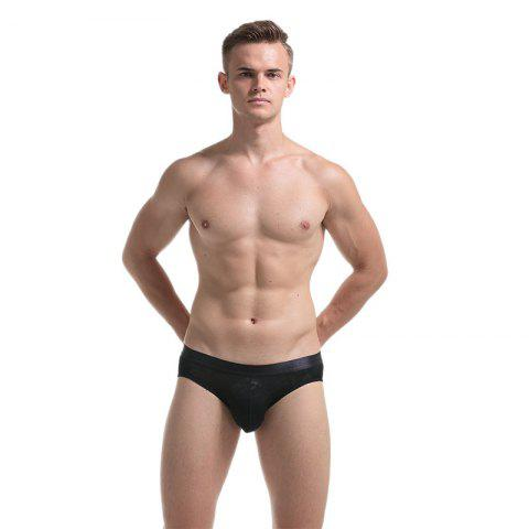 Chic Men's Transparent Sexy Lips and Underwear