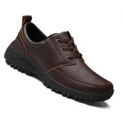 Men Casual Business Wear Resistance Outsole Comfy Soft Ankle Oxfords Shoes -