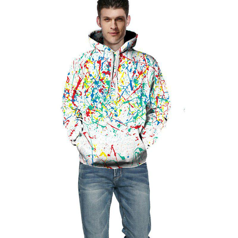 Outfit 3D Digital Printing Color Ink Fashion Hoodie