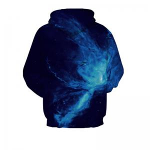 Nouveau Sweat à capuche imprimé Blue Star -