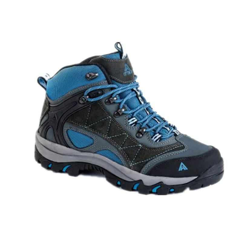 Fancy Hiking Shoes Men's Anti-fur Climbing Boots Trekking Sneakers
