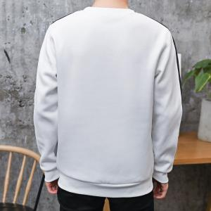 Nouveau Sweat-shirt à encolure ras du cou et à bordure contrastante -