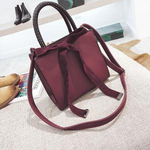 Fashion Messenger Shoulder Bag Simple Handbag -