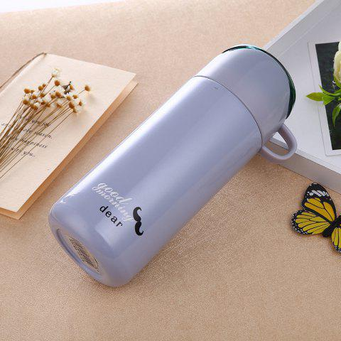 Outfits Double Color Lid Stainless Steel Vacuum Cup