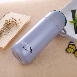 Double Color Lid Stainless Steel Vacuum Cup -