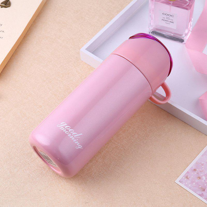 Trendy Double Color Lid Stainless Steel Vacuum Cup