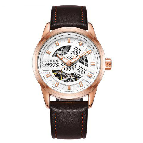 Cheap OUBAOER 2002A Automatic Mechanical Hollow Men Watches
