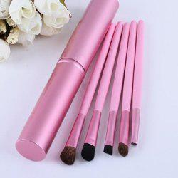 Portable Eye Shadow Brush Set 5PCS -