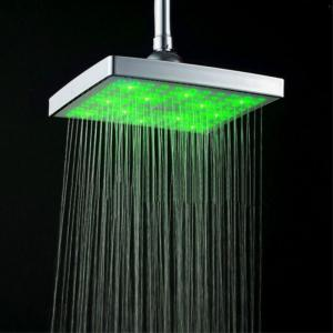New LED Top Colorful Discoloration Shower -