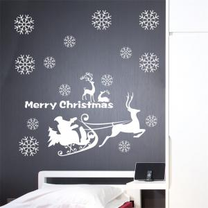 Christmas Window Decoration Wall Stickers -