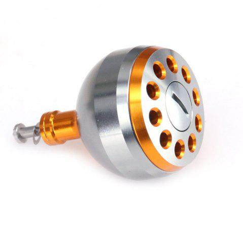 Hot DEUKIO New Fishing Reel Handle CNC Carved Knob Size 38mm For The Baitcasting Round Reel