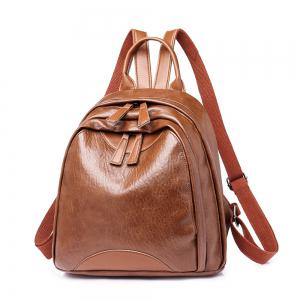 PU Bulk Wild Trendy Ladies Travel Backpacks -