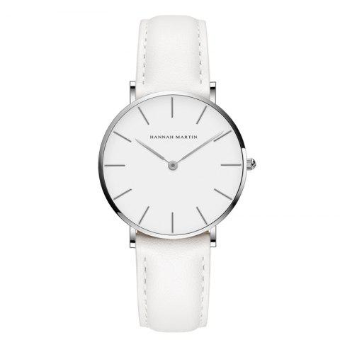 Fancy Hannah Martin CB36 Waterproof Business Casual  Band with Ultra-Thin Quartz Watch