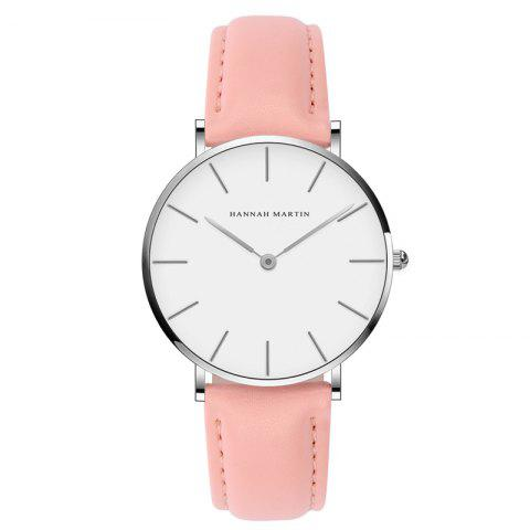 Shop Hannah Martin CB36 Waterproof Business Casual  Band with Ultra-Thin Quartz Watch