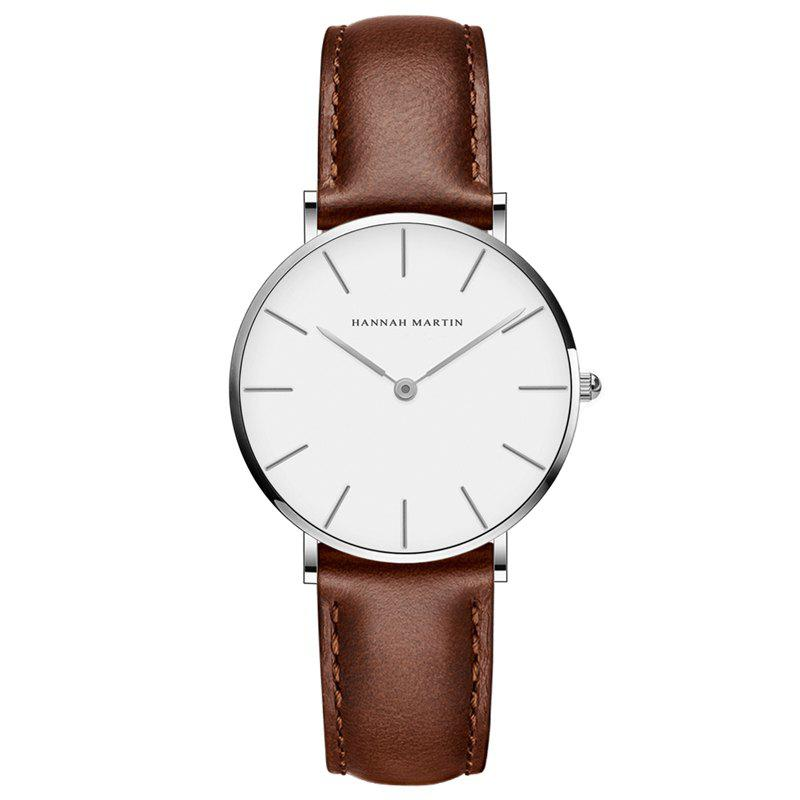 Store Hannah Martin CB36 Waterproof Business Casual  Band with Ultra-Thin Quartz Watch
