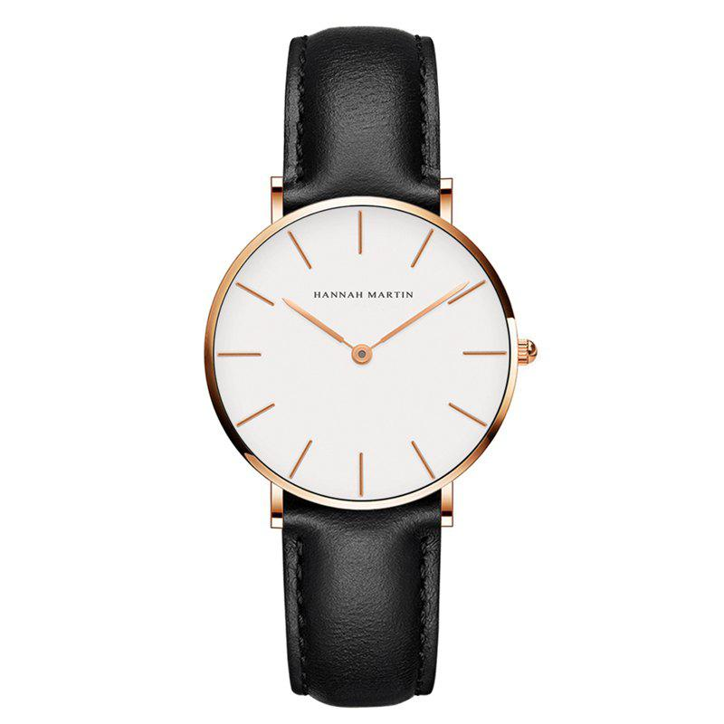 Outfit Hannah Martin CB36 Waterproof Business Casual  Band with Ultra-Thin Quartz Watch