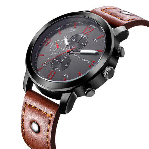 Store Hannah Martin 2012 Men Business Sports Fashion Casual Fashion Quartz Watch