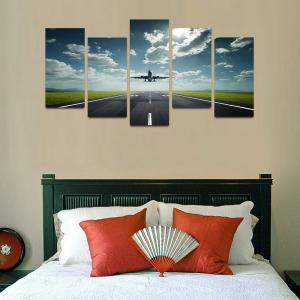 MailingArt F041 5 Panels Landscape Wall Art Painting Home Decor Canvas Print -