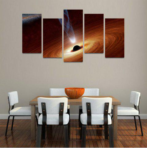 Cheap MailingArt F046 5 Panels Landscape Wall Art Painting Home Decor Canvas Print
