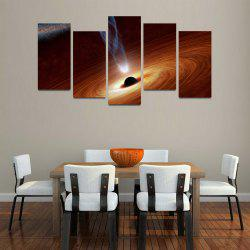 MailingArt F046 5 Panels Landscape Wall Art Painting Home Decor Canvas Print -