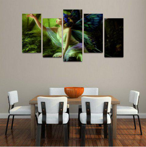 Online MailingArt F047 5 Panels Landscape Wall Art Painting Home Decor Canvas Print