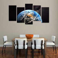 MailingArt F050 5 Panels Landscape Wall Art Painting Home Decor Canvas Print -