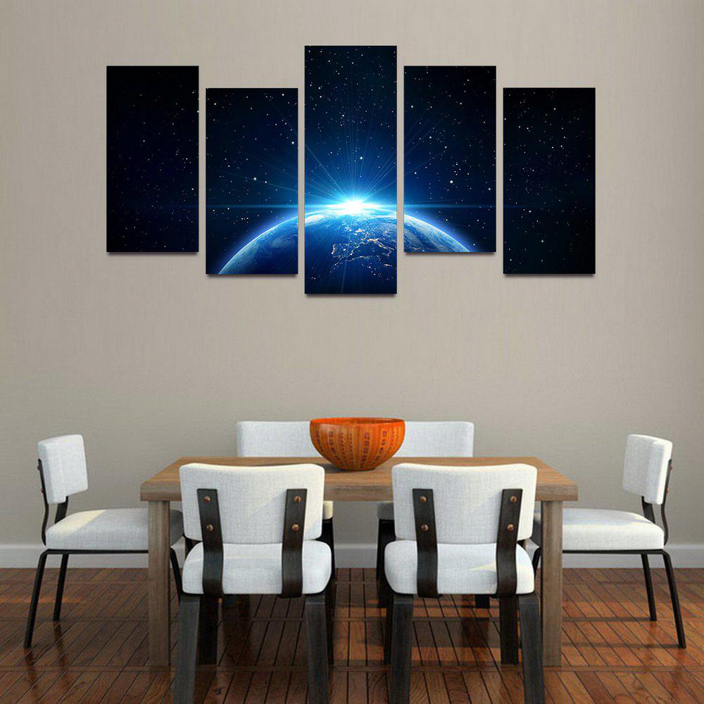 Shop MailingArt F052 5 Panels Landscape Wall Art Painting Home Decor Canvas Print