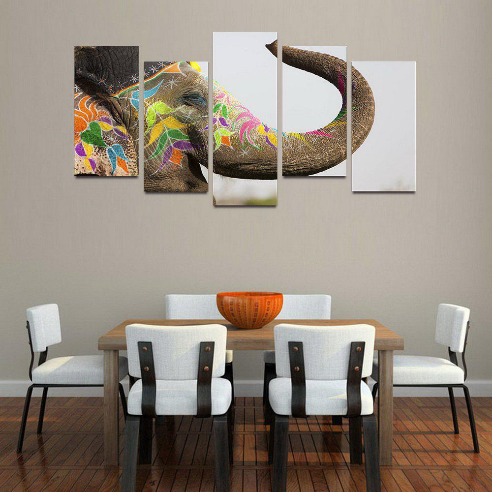 Outfits MailingArt F056 5 Panels Landscape Wall Art Painting Home Decor Canvas Print