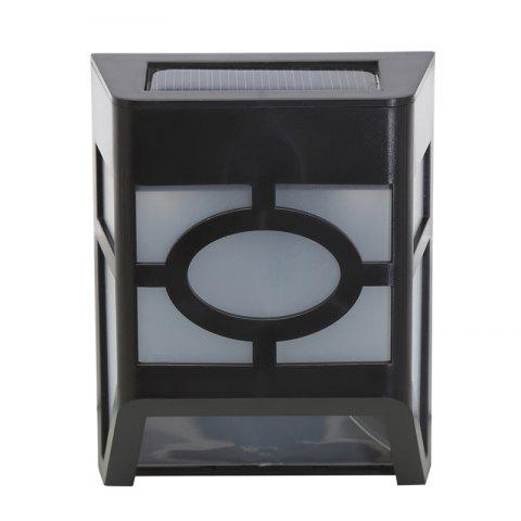 Chic 1PCS Polycrystalline silicon solar light-operated Super Bright Wall Mount Outdoor Garden Lamp