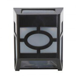 1PCS Polycrystalline silicon solar light-operated Super Bright Wall Mount Outdoor Garden Lamp -