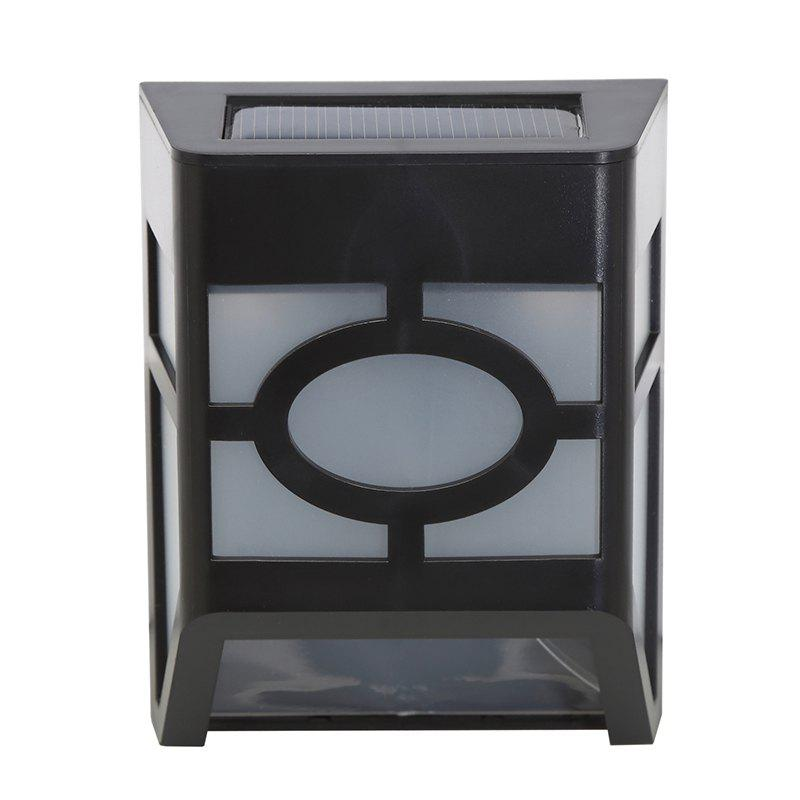 Trendy 1PCS Polycrystalline silicon solar light-operated Super Bright Wall Mount Outdoor Garden Lamp