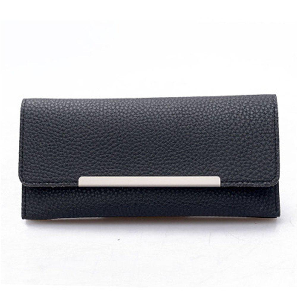 Shops 2099 Iron Edge Litchi Grain Wallet