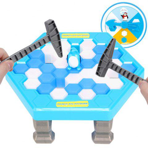 Shops Board Game Save Penguin Break Ice Blocks Children Educational Parent-chid Interactive Games