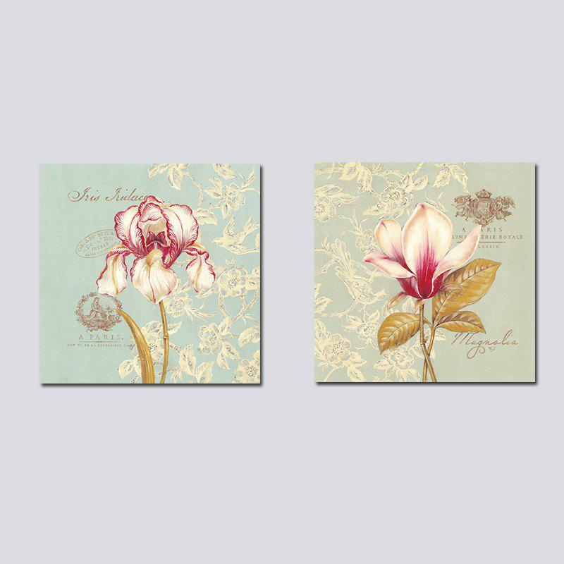 Fancy QiaoJiaHuaYuan No Frame Canvas Living Room Bedroom Background Simple Flower Decoration