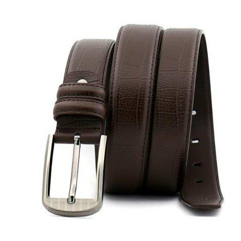 Outfit Pin Buckle Leather Men's Leather Belt