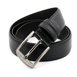 Pin Buckle Leather Men's Leather Belt -