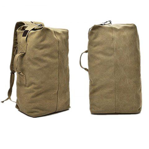 Fancy Large Capacity Travel Man Backpack Outdoor Sports Bag Canvas
