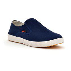 Men a Pedal Lazy Casual Breathable Canvas Shoes -
