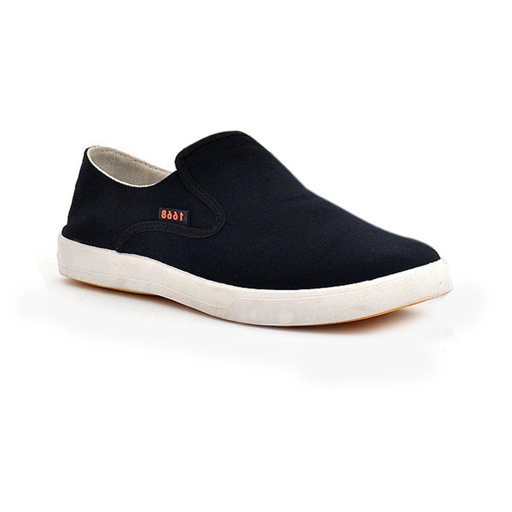 New Men a Pedal Lazy Casual Breathable Canvas Shoes