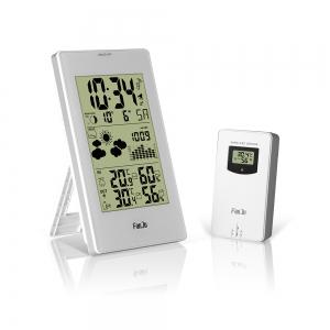 FanJu FJ3352 Weather Station 10-in-1 Functions with Barometer/Temperature/HumidityAtomic Clock/Moon Phase -