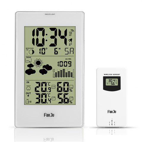 Shops FanJu FJ3352 Weather Station 10-in-1 Functions with Barometer/Temperature/HumidityAtomic Clock/Moon Phase