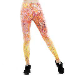New Yoga Glossy Sports Leggings -