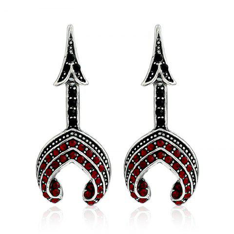 Shop Fashion Tower Type Personality Earrings