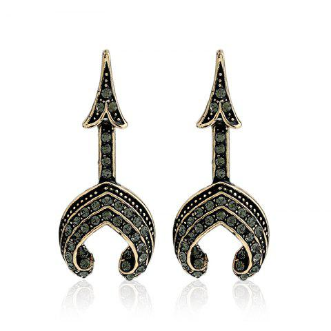 Chic Fashion Tower Type Personality Earrings