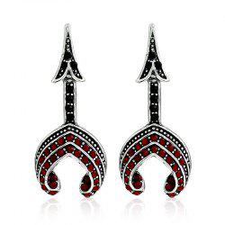 Fashion Tower Type Personality Earrings -